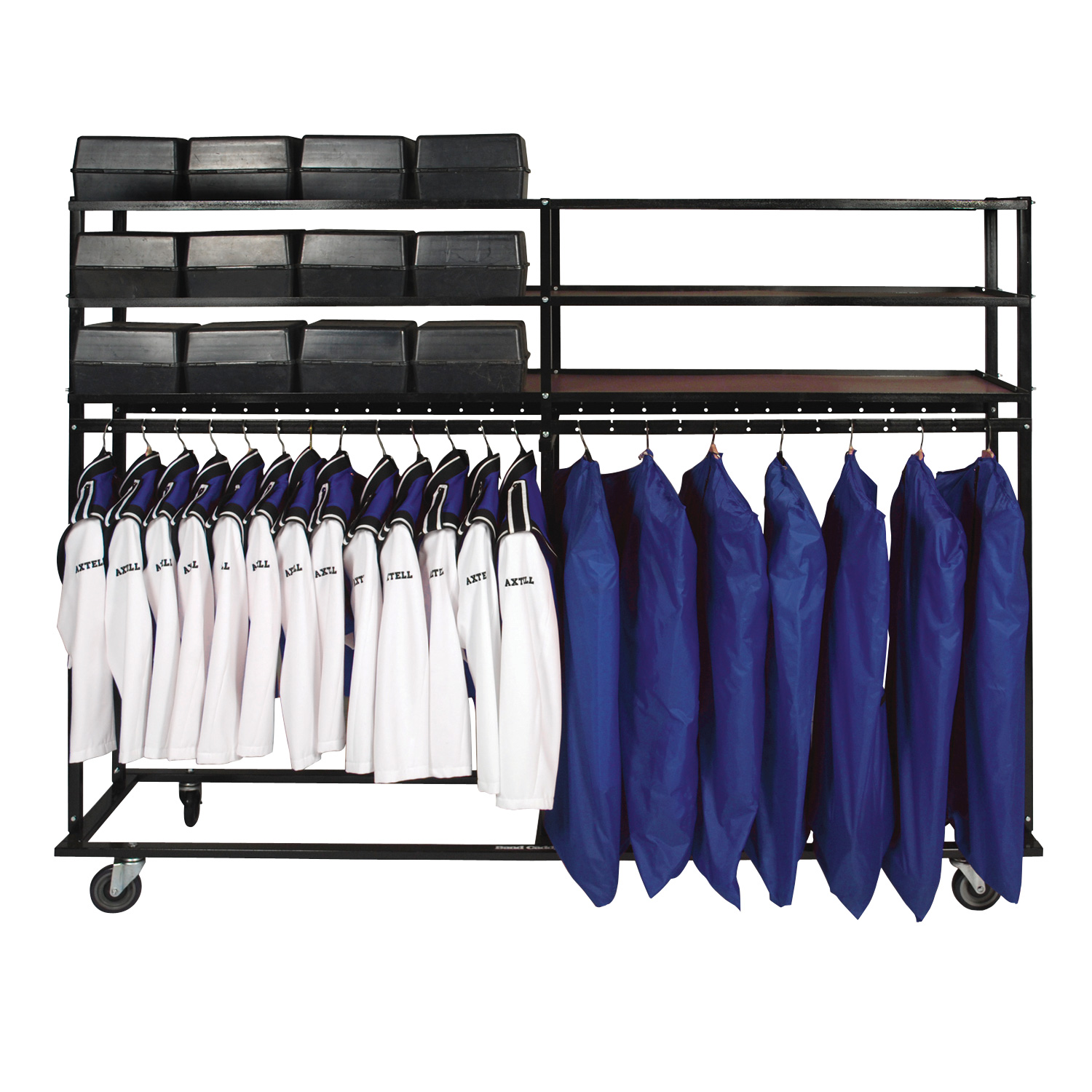 Side By Side Hat And Uniform Caddy – Model 99-98