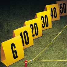 Ultra Bright Yardline Markers