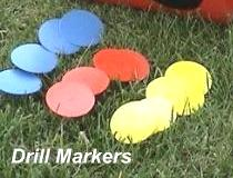 Orange Drill Markers (CLEARANCE)