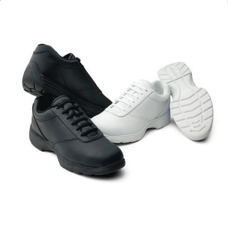 #105 The Edge Marching Shoes – White