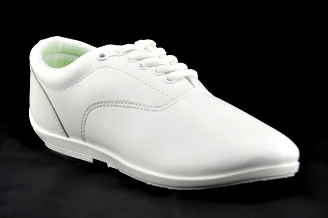 Drillmasters Marching Shoes White Marching World