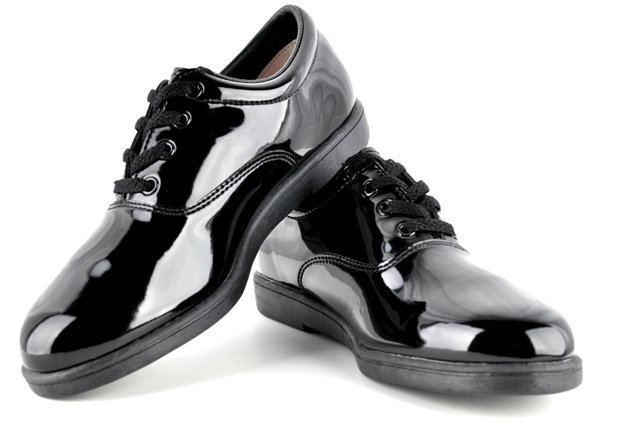 #607Dinkles Formal Marching & Concert Shoes – Black
