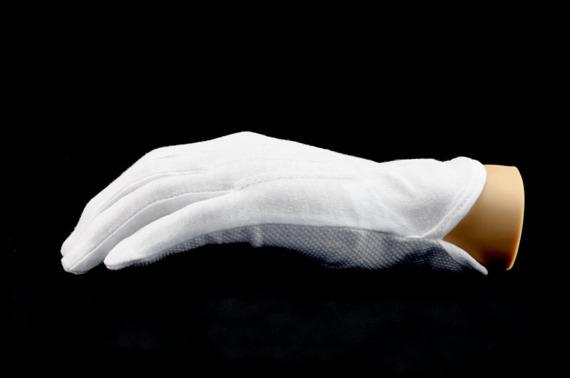 Sure Grip Gloves White Peacocks Marching World