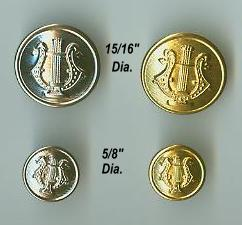 Lyre Buttons
