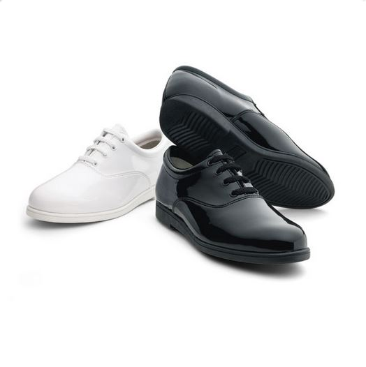 #605 Formal Marching/Concert Shoes – White