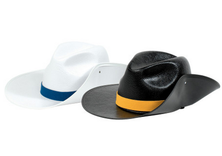 Easy-Clean Plastic Aussie Hat – DSI