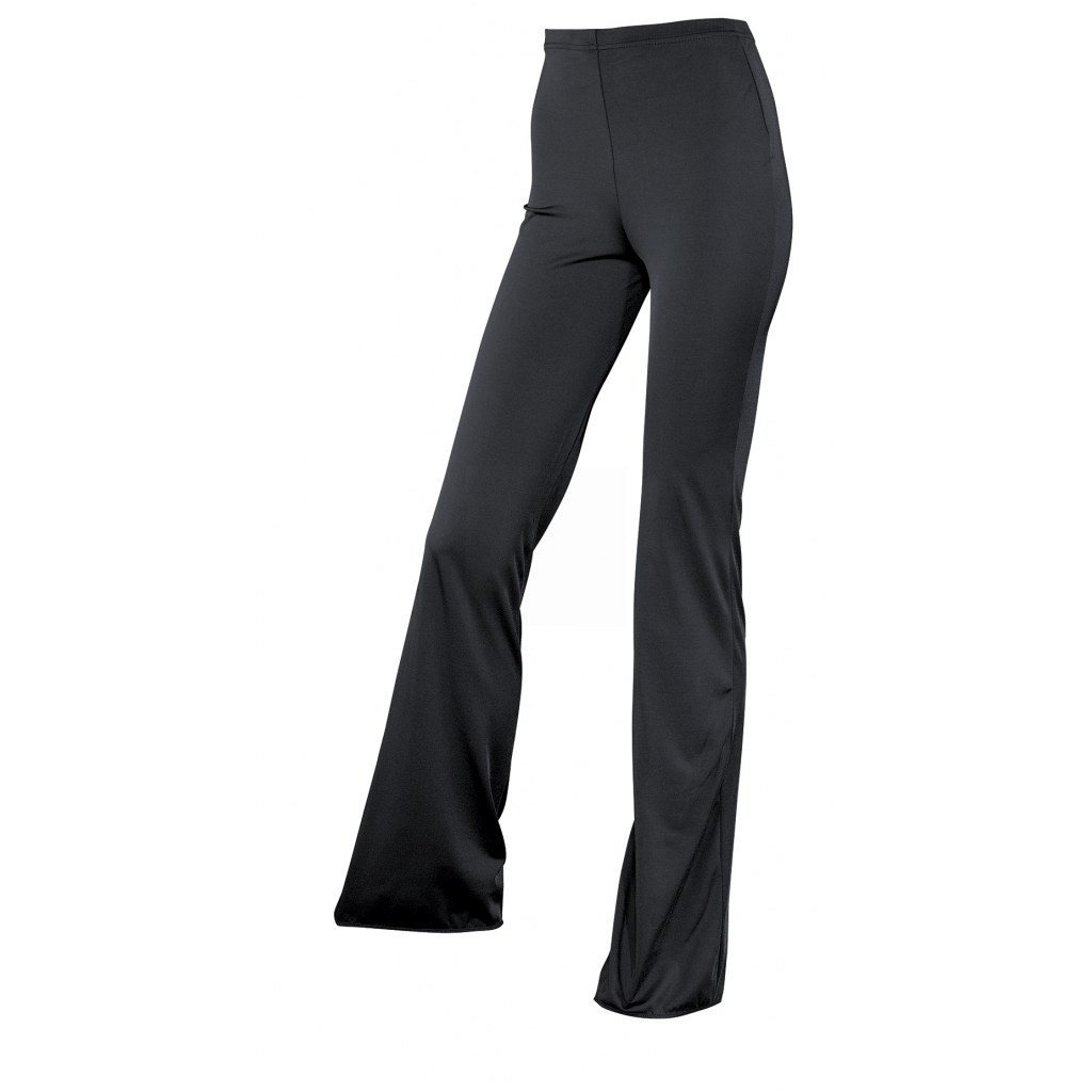 LYCRA Flare Pants In Black
