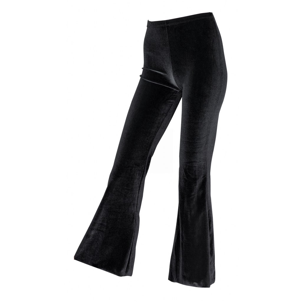 Plush Jazz Pants In Black