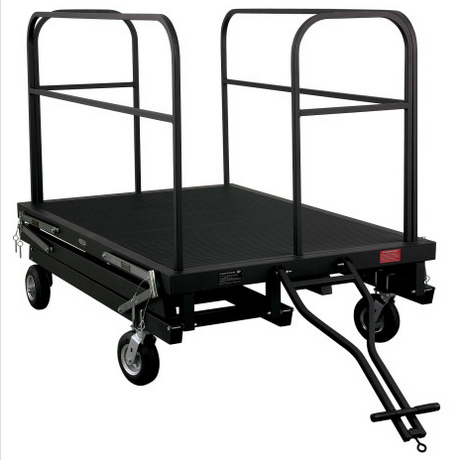 Collapsible Towing Package For 6′ Command Center Podium