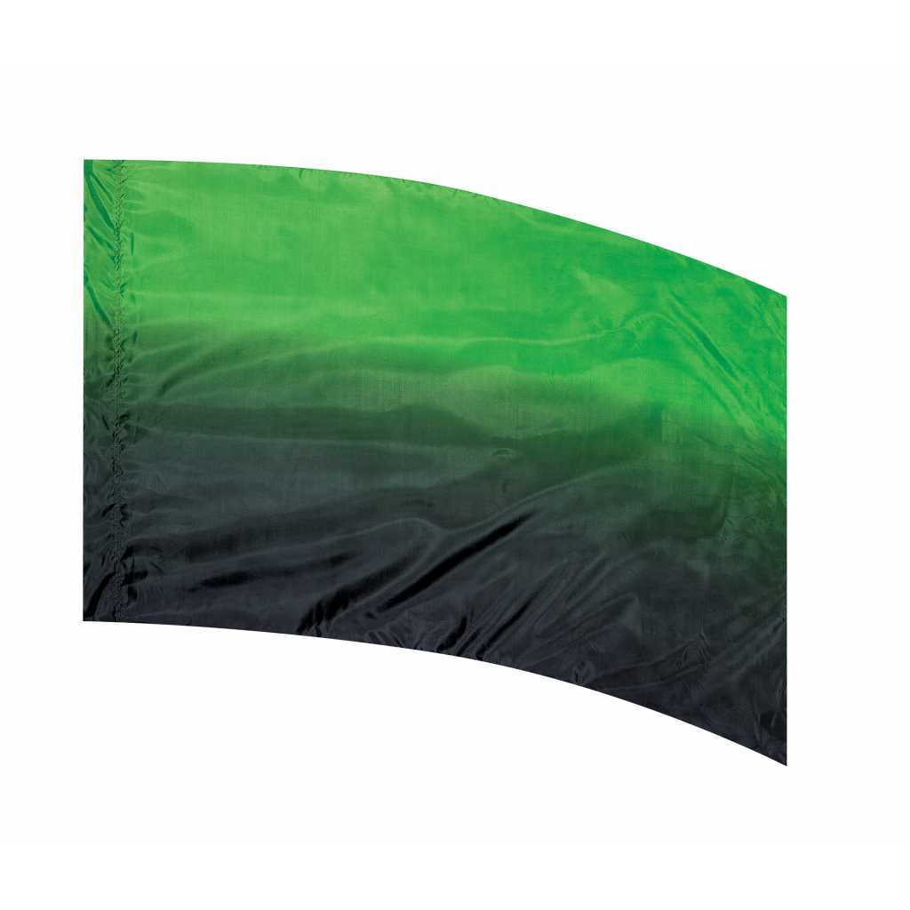 Closeout StylePlus Green To Black Shaded Flag