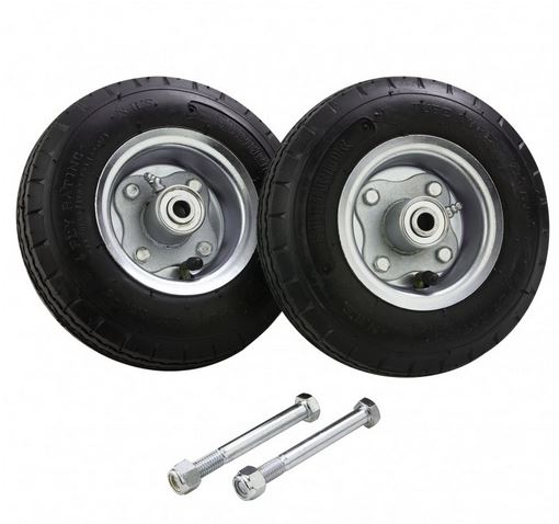 8″ Solid Rubber Tires W/ Bolts For 6′ Command Center Podium