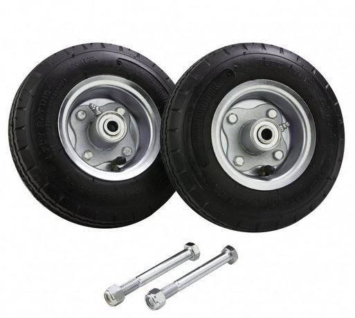 8″ Solid Rubber Tire Upgrade Kit
