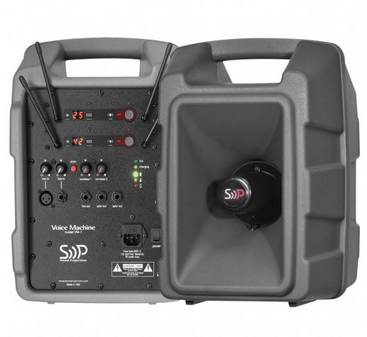 Voice Machine PA/Sound System With 123-Channel Shure Wireless