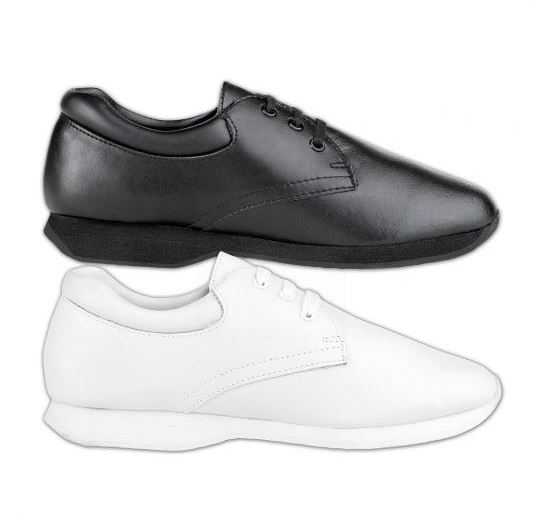 Athletic Marching Shoe In White