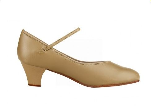 Broadway Concert Shoes – Nude