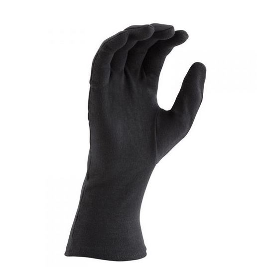 DSI Long Wrist Nylon Gloves – Black – One Size – DOZEN