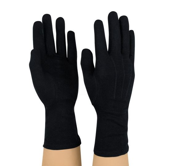 Black Dinkles Gloves - Sold By The Doz.